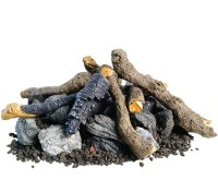 Outdoor Gas Logs, Fire Pit Logs | Fines Gas
