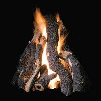 "Golden Blount 36"" Grand Fire Pit Log Set | Fine's Gas"