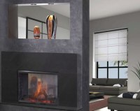 See-Through Heat N Glo Fireplace   Fine's Gas