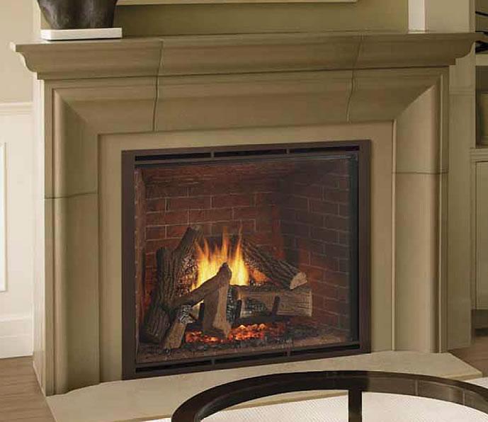 HeatNGlo TRUE42 Gas Fireplace