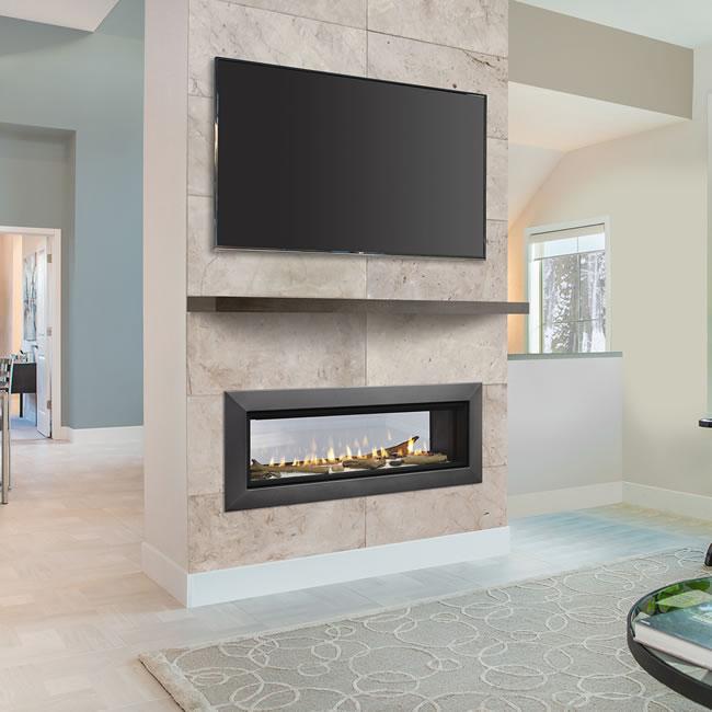 Majestic Wide View Echelon II SeeThru 36 Fireplace