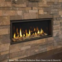 Majestic Wide View Echelon II Direct Vent Fireplace 48 ...