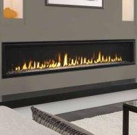 Echelon II Wide View 72 Inch Fireplace by Majestic