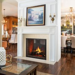 Images Of Living Rooms With Wood Burners Valances For Marquis Ii Direct Vent See-thru Fireplace By Majestic ...