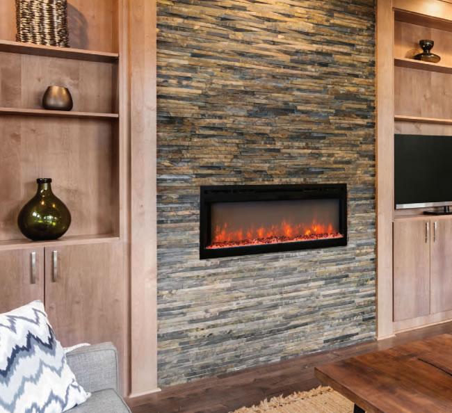 Modern Flames Spectrum Flush Mount Electric Fireplace