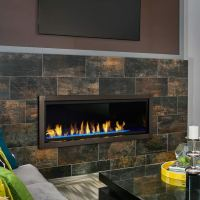 Artisan 60 Inch Vent Free Linear Fireplace | Fine's Gas