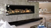 Aura Wide View 70 Inch Fireplace by Majestic With ...