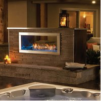 Napoleon Galaxy Outdoor Gas Fireplace | Fine's Gas