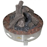 Napoleon Gas Log Fire Pit, Fire Pits for Decks | Fines Gas