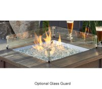 Sierra Gas Fire Pit Table By Outdoor Greatroom | Fine's Gas