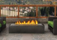 PatioFlame Linear Fire Pit, Gas Outdoor Fire Pit