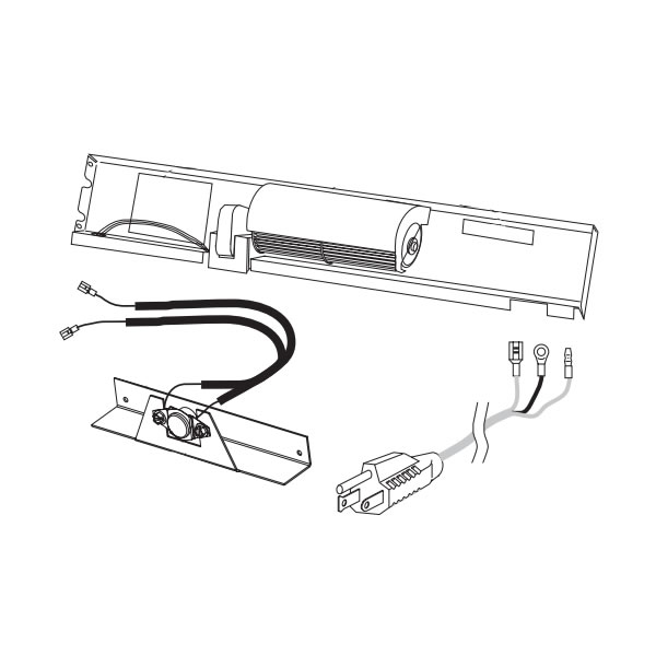 SunStar Thermostatic Blower Kit For 30,000 BTU Heaters