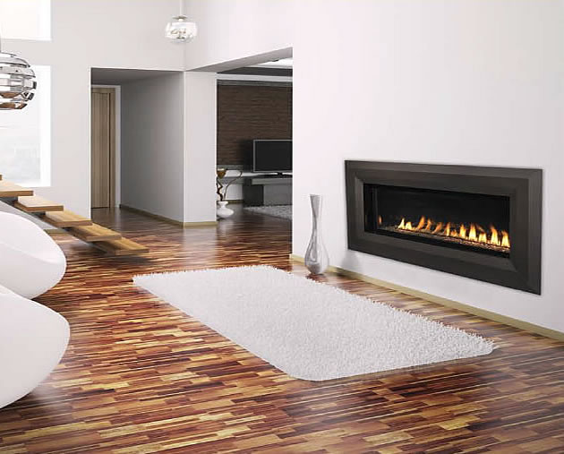 Superior VentFree Linear Luminary Fireplace  Fines Gas