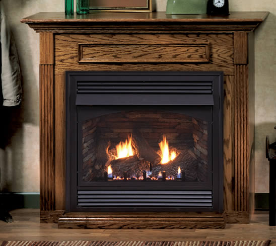 Empire Vail 36 inch Gas Fireplace System  Fines Gas