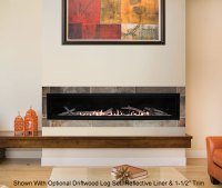 Boulevard 72 Inch Vent Free Linear Fireplace | Fine's Gas