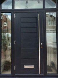 Grey Composite Doors | Composite Doors UK Modern Composite ...
