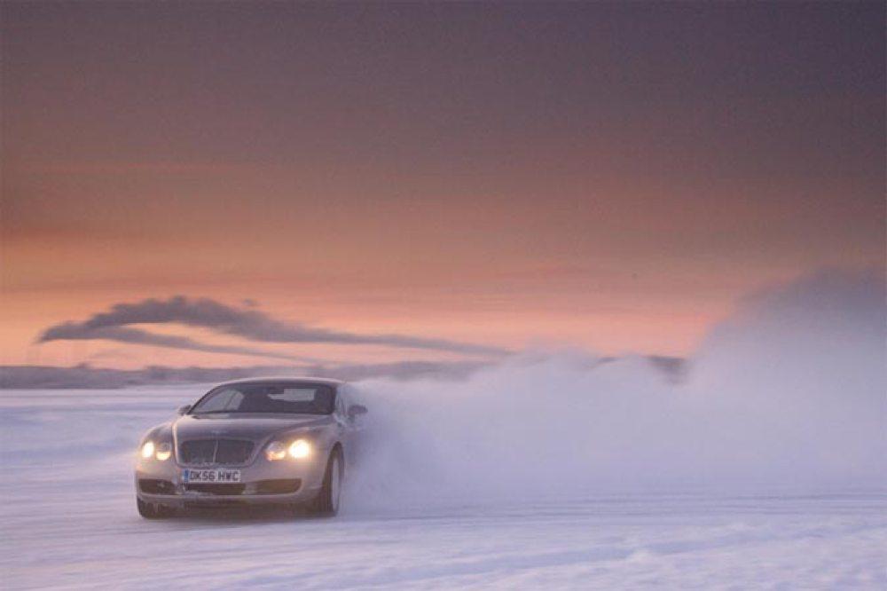 Bentley Power on Ice 2012 – Bentley Winterfahrtraining in Finnland