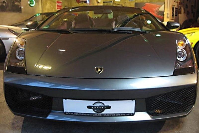 Gepflegter Lamborghini Gallardo Sypder E-Gear mit umfangreicher Ausstattung