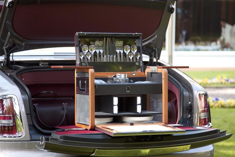Rolls-Royce Ghost Bespoke - Persönlicher Picknick-Korb