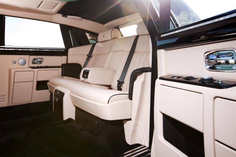 Rolls-Royce Ghost Bespoke - Maßgeschneidertes Interieur