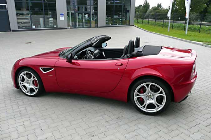Alfa Romeo 8C Spider Limited Edition
