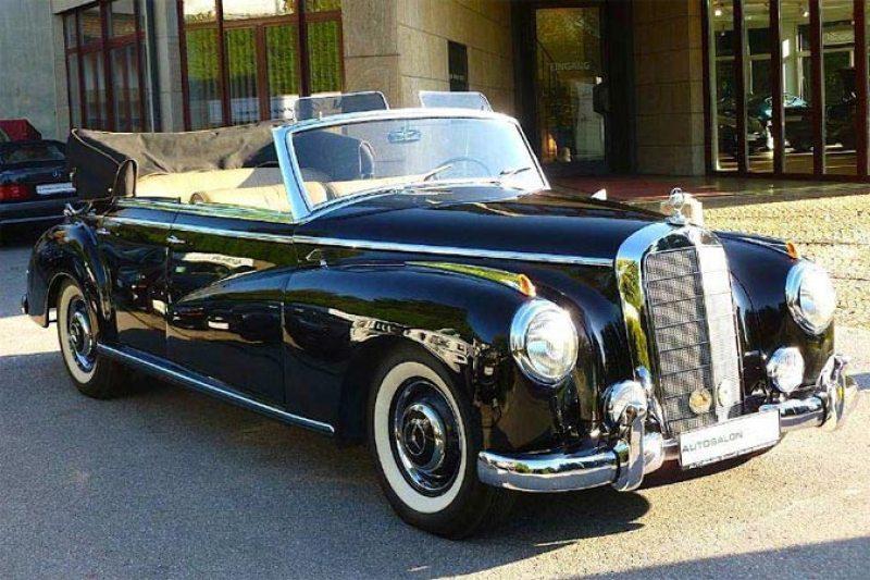 Oldtimer Mercedes-Benz 300 Adenauer Cabriolet für Sammler und Liebhaber