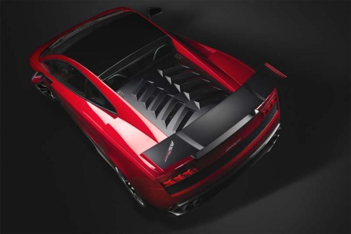 Lamborghini limitiertes Rennfahrzeug