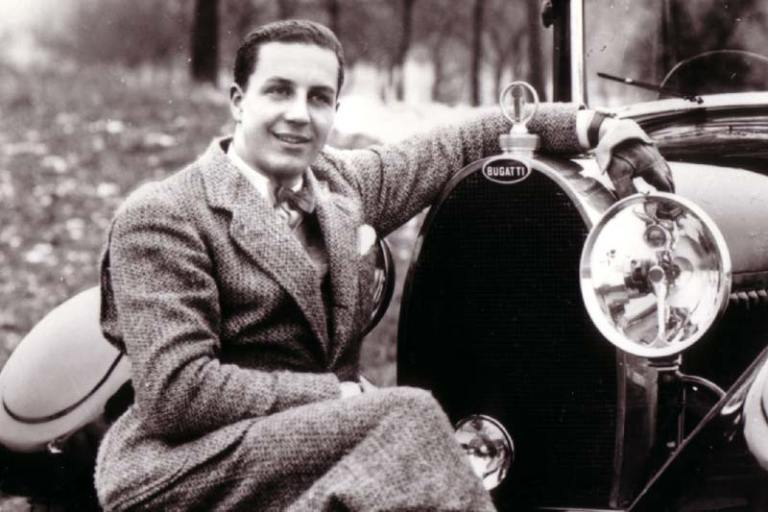 Jean Bugatti in Serge Bellu Bugatti Historie