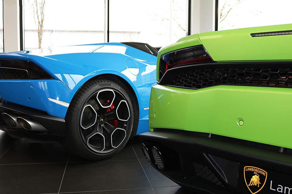 Lamborghini in Nürnberg