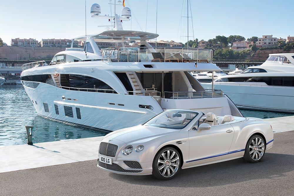 Bentley Continental GT Convertible von Mulliner