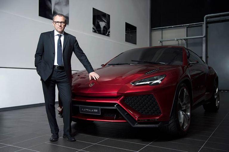 Lamborghini Urus und Stefano Domenicali