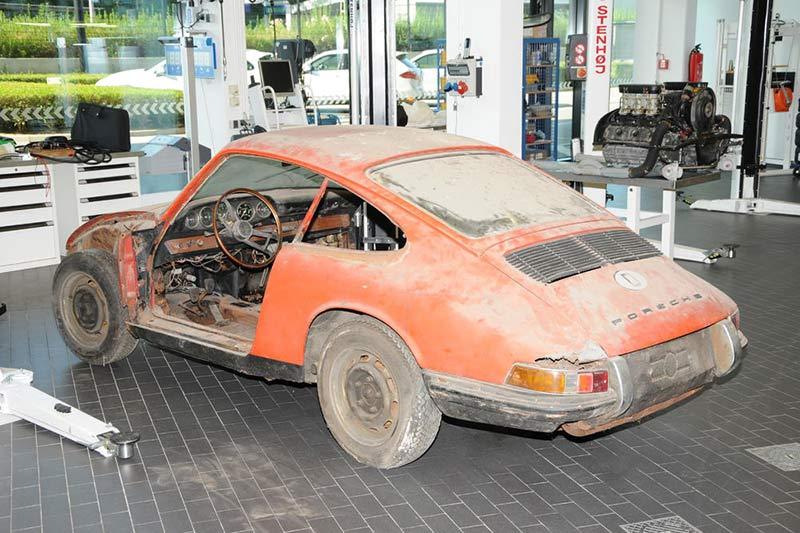 Der älteste 911er Porsche