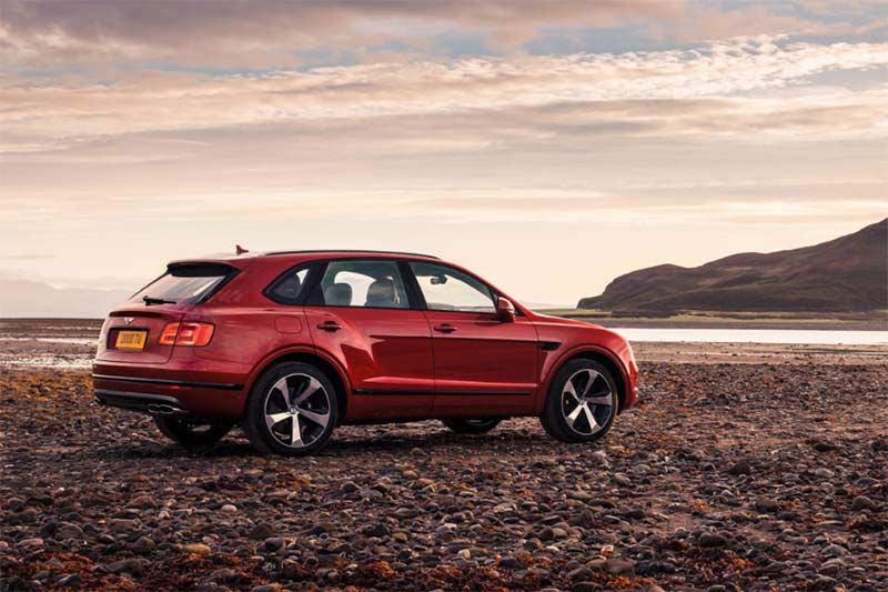 Bentley Bentayga - Luxus-SUV mit V8-Motor
