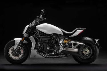 Ducati XDiavel weiß
