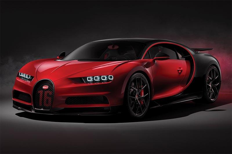 Der Bugatti Chiron Sport in seiner ganzen Pracht