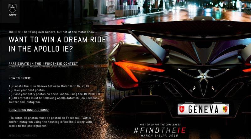 #FindTheIE - Apollo IE Gewinnspiel