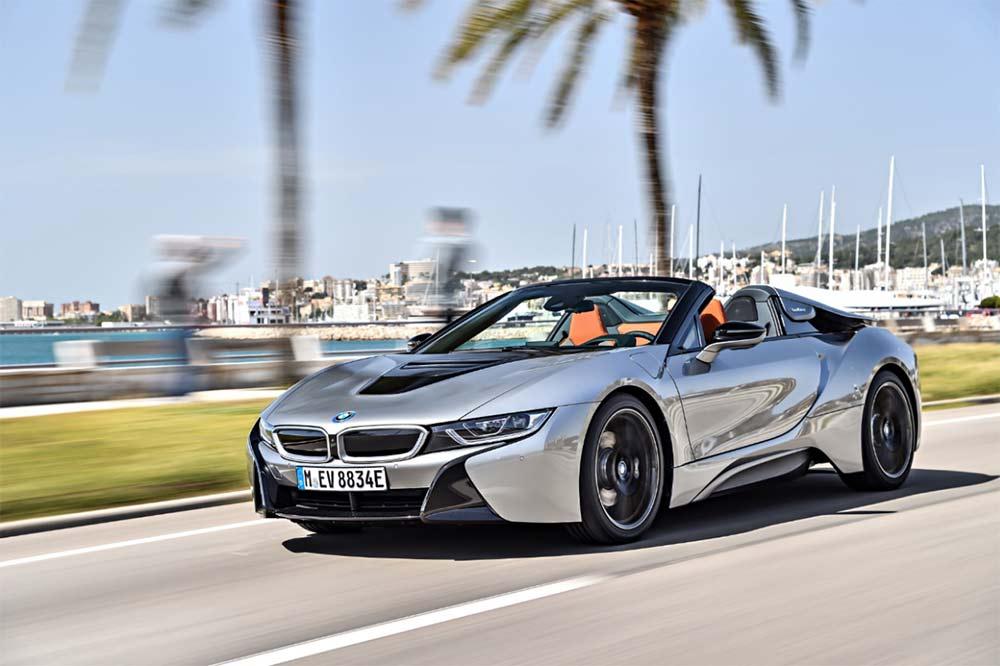 Elektrosportwagen BMW i8 mieten