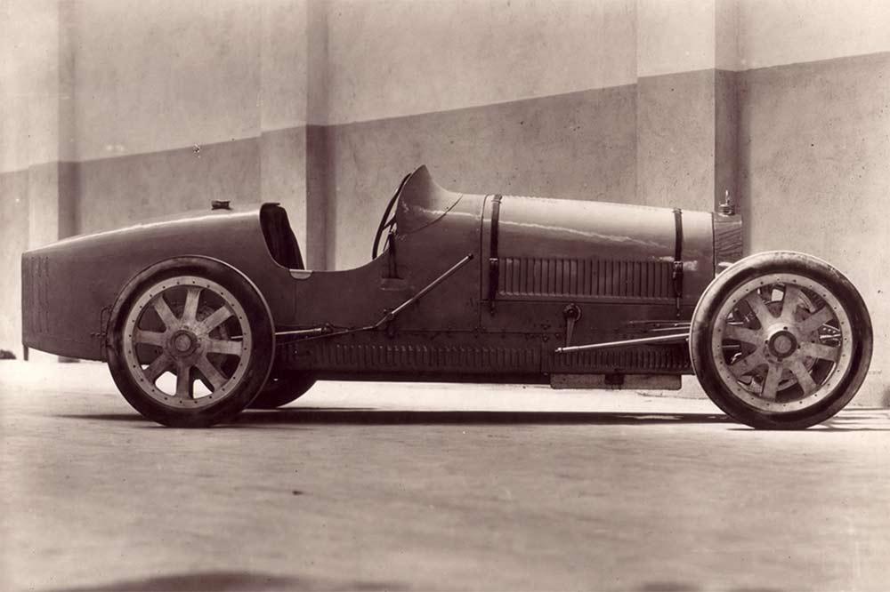 Der Bugatti Type 35 Rennwagen