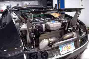 Bugatti Veyron Ölwechsel