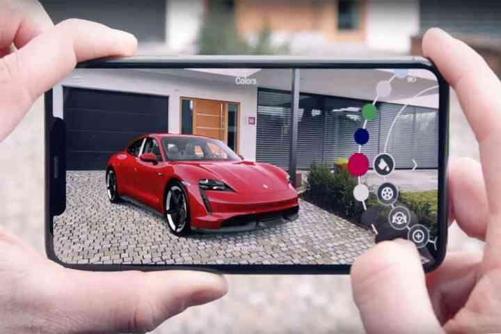 Die Porsche AR Visualizer App