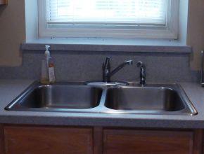 measure kitchen sink