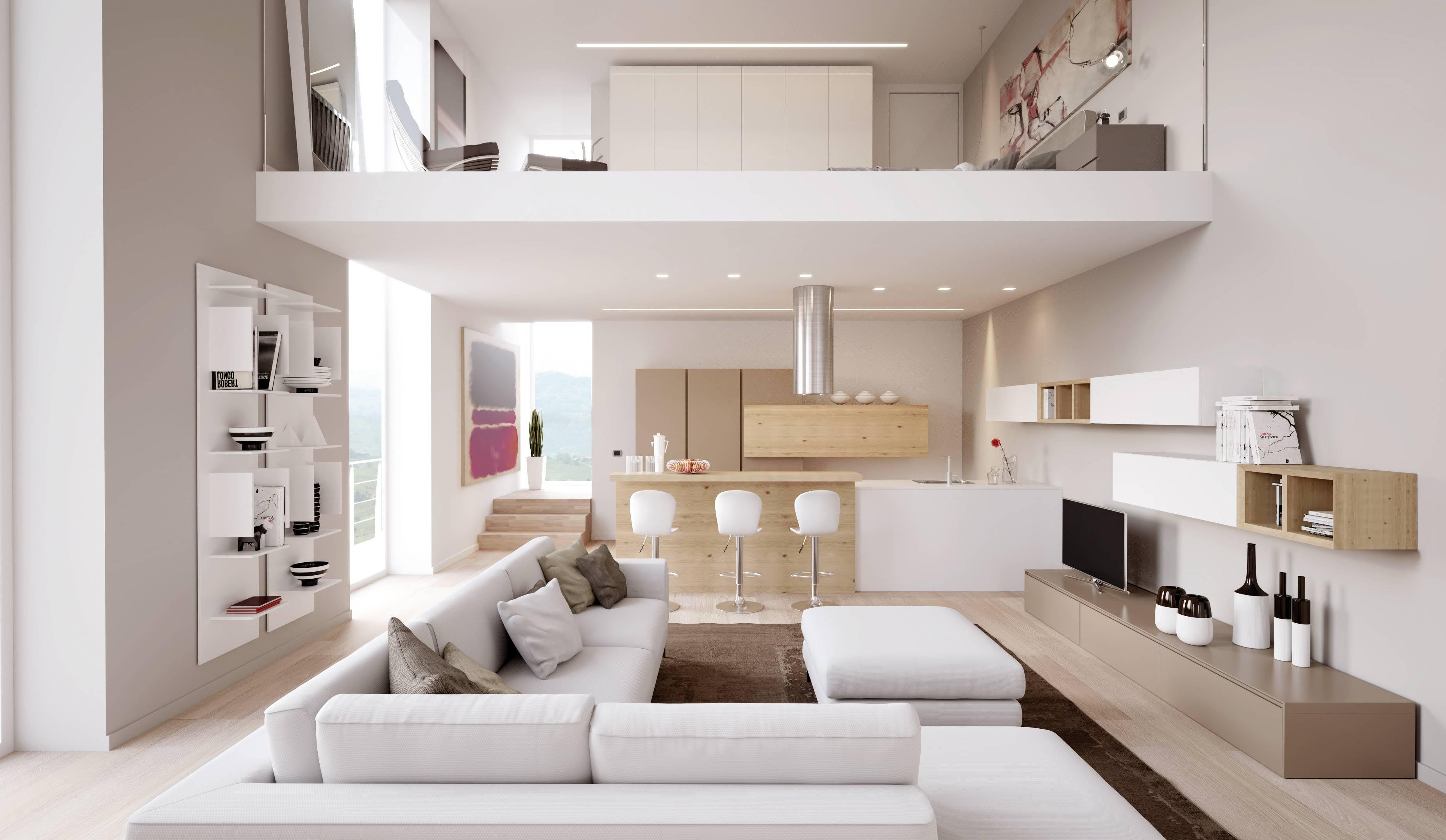 Illuminare il soggiorno quali lampade si rivelano