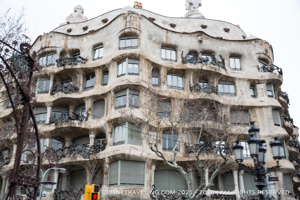 Casa Mila La Pedrera  Things to do in Barcelona  Fine