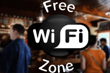 Free Wi-Fi zones