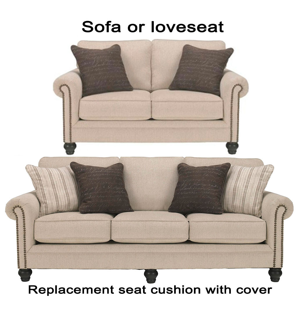 how to replace sofa cushion covers school ashley milari replacement cover 1300038 or
