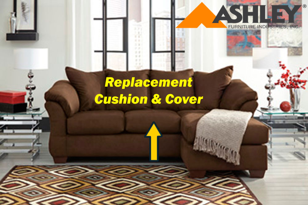 Ashley Darcy replacement cushion and cover 7500418 Cafe