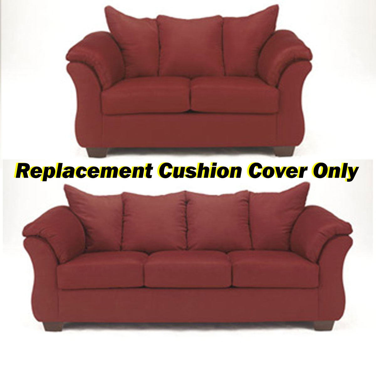 how to replace sofa cushion covers furniture bed uk ashley darcy replacement cover only 7500138 or