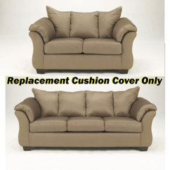 How To Replace Sofa Cushion Covers Dark Blue Velvet Ashley Darcy Replacement Cover Only 7500238 Or