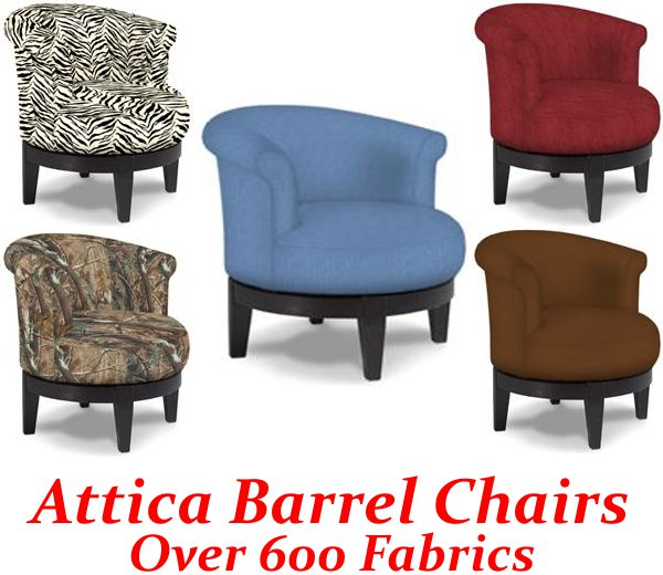 barrel chairs swivel rocker monogrammed toddler chair attica
