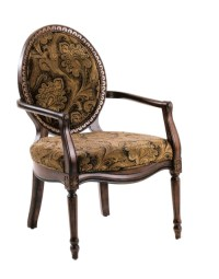 Madison Elegant Victorian Accent Chair